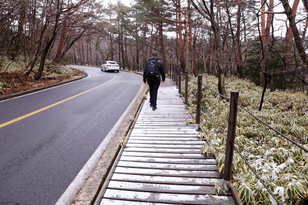 漢拏山 霊室 登山口までの道2