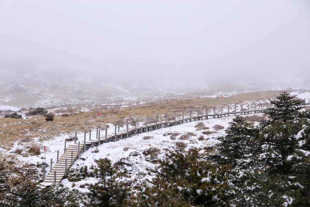 漢拏山 ウィッセオルム待避所〜南壁3