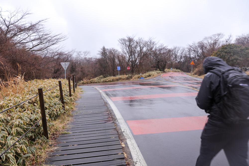 漢拏山 オリモクルート 登山口〜バス停1