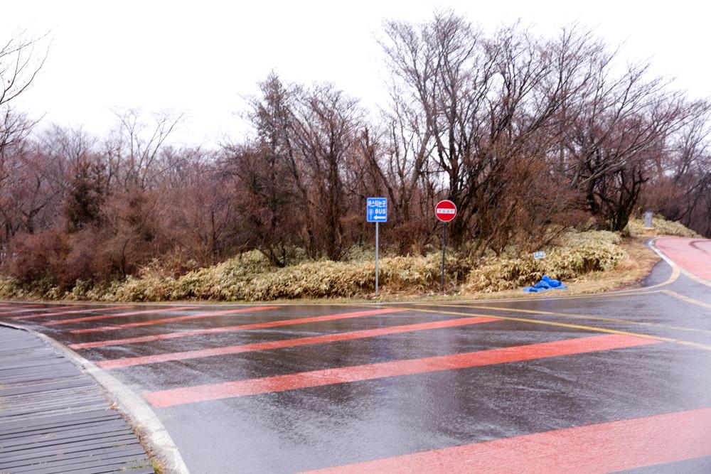 漢拏山 オリモクルート 登山口〜バス停2