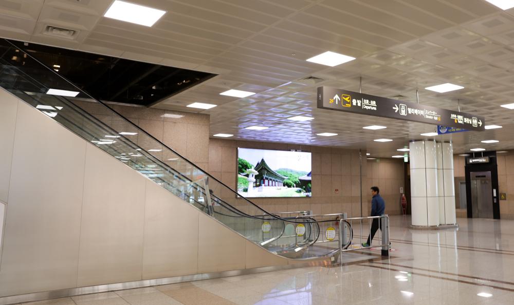 釜山 金海空港 国内線 ターミナル1階