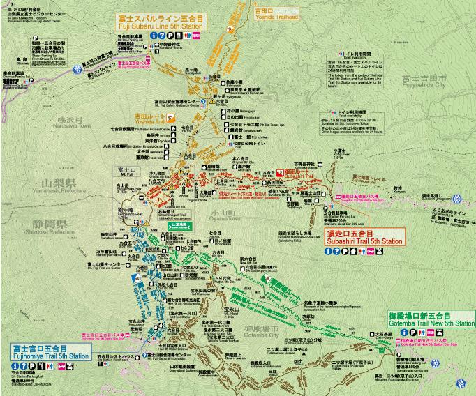 富士山 登山 ルート