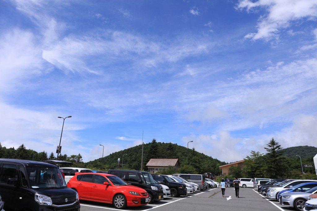 水ヶ塚公園 駐車場1