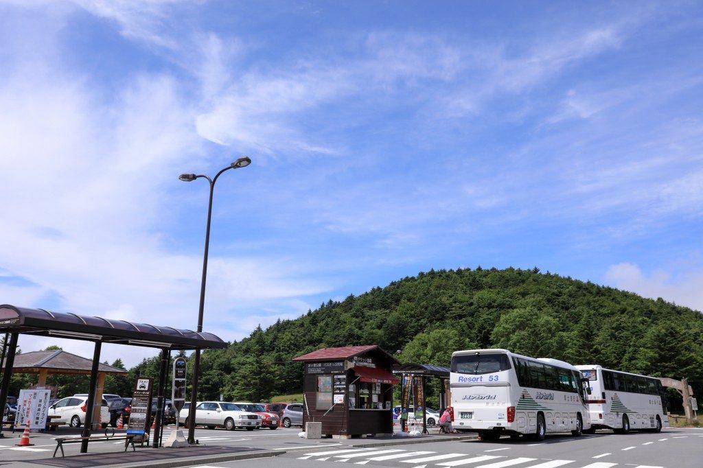 水ヶ塚公園 駐車場2
