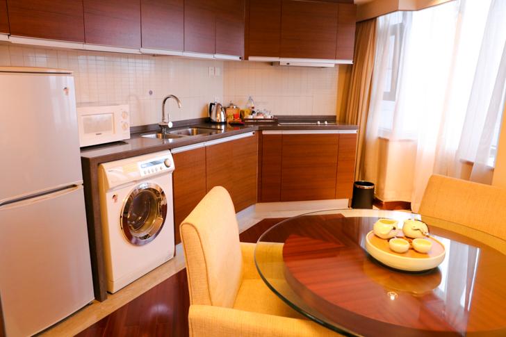 グランドメルキュール上海虹橋 客室2501 キッチン