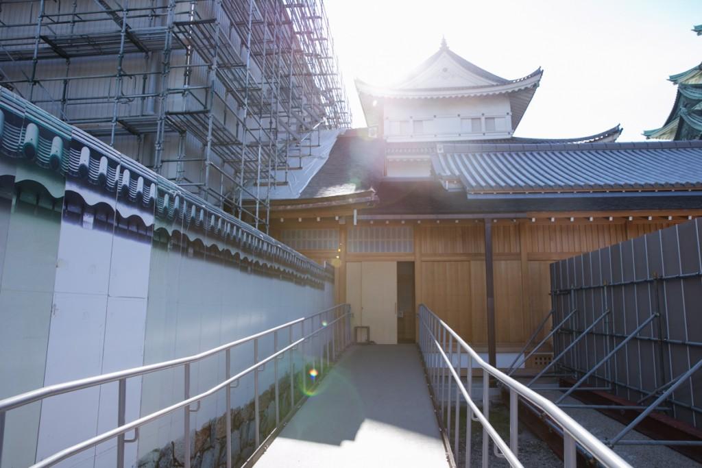 名古屋城 本丸御殿 孔雀の間 入口