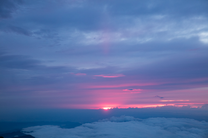 富士山 富士宮口 御来光8