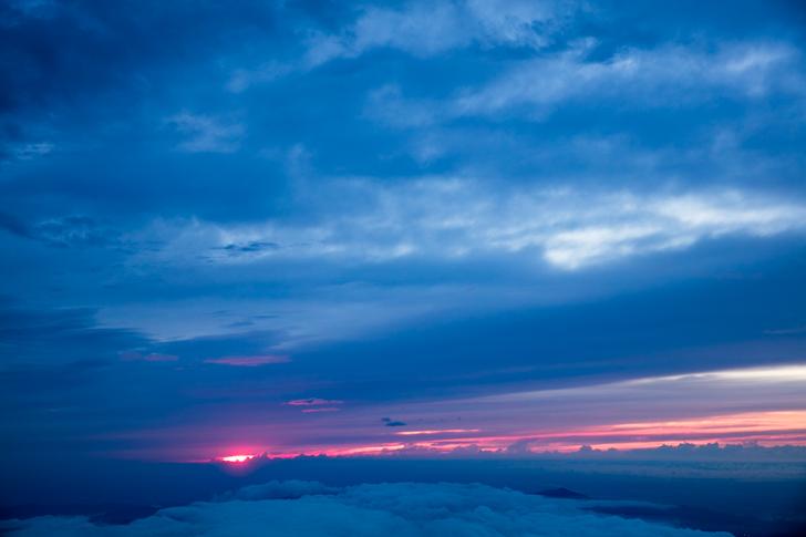 富士山 富士宮口 御来光10
