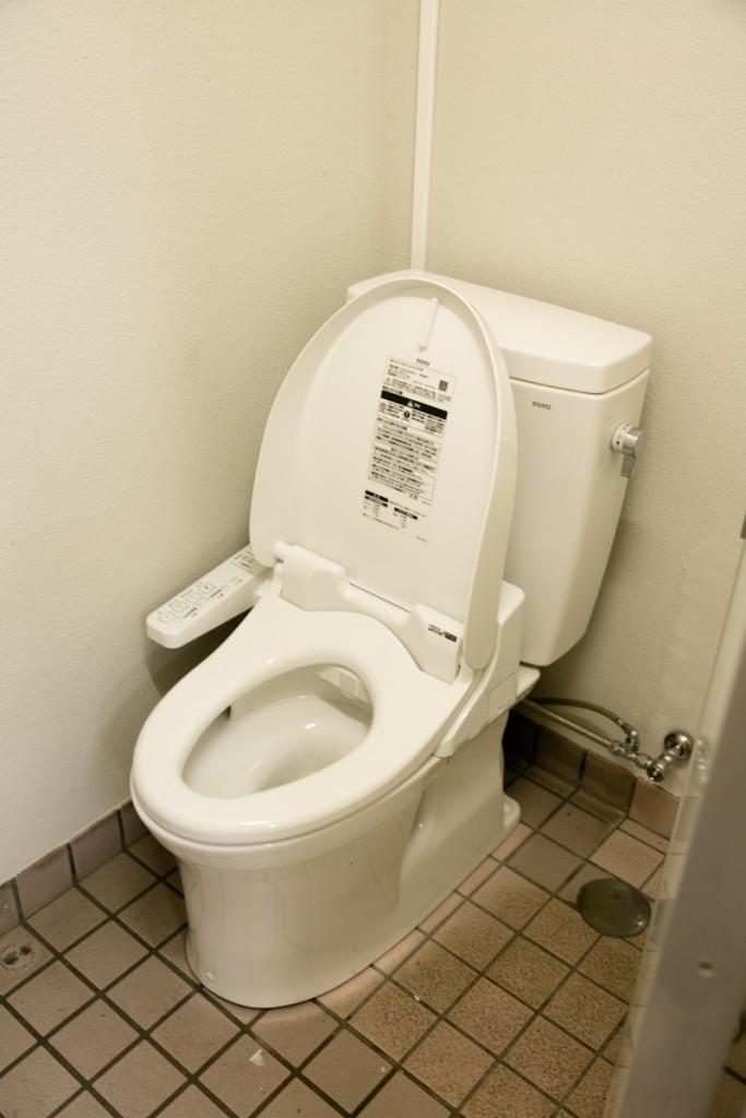 知内浜オートキャンプ場 トイレ