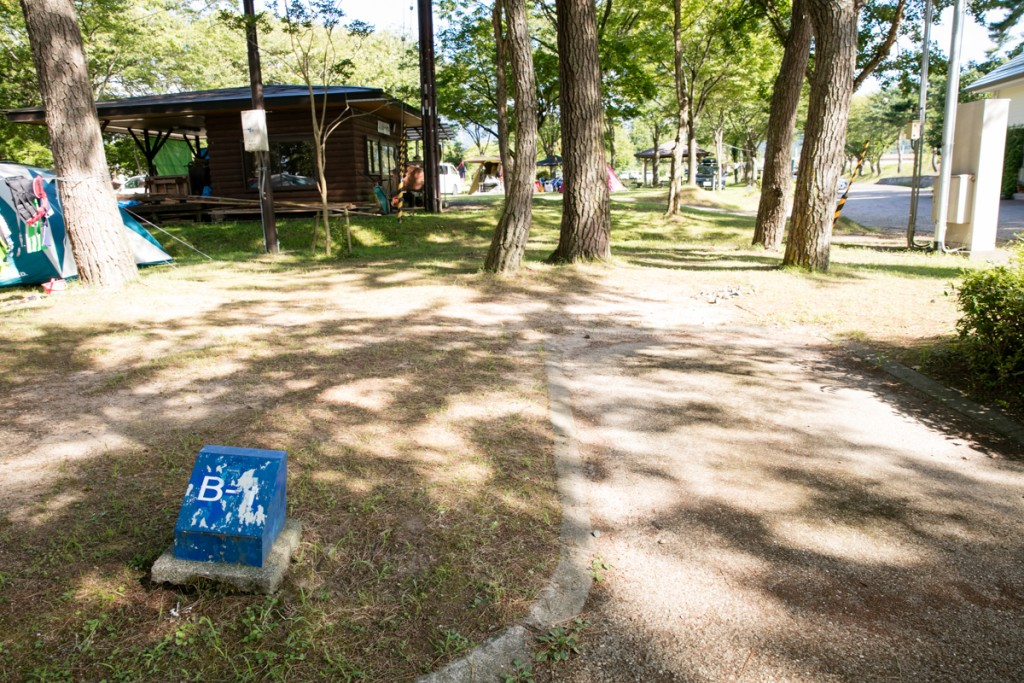 知内浜オートキャンプ場 Bサイト