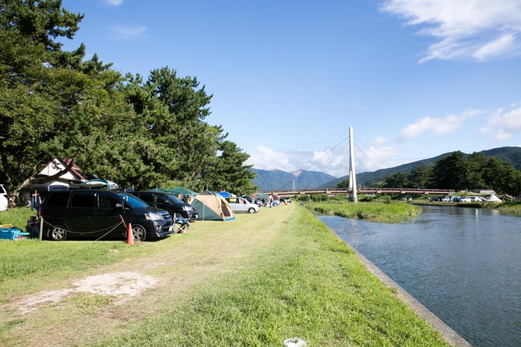 知内浜オートキャンプ場 フリーサイト