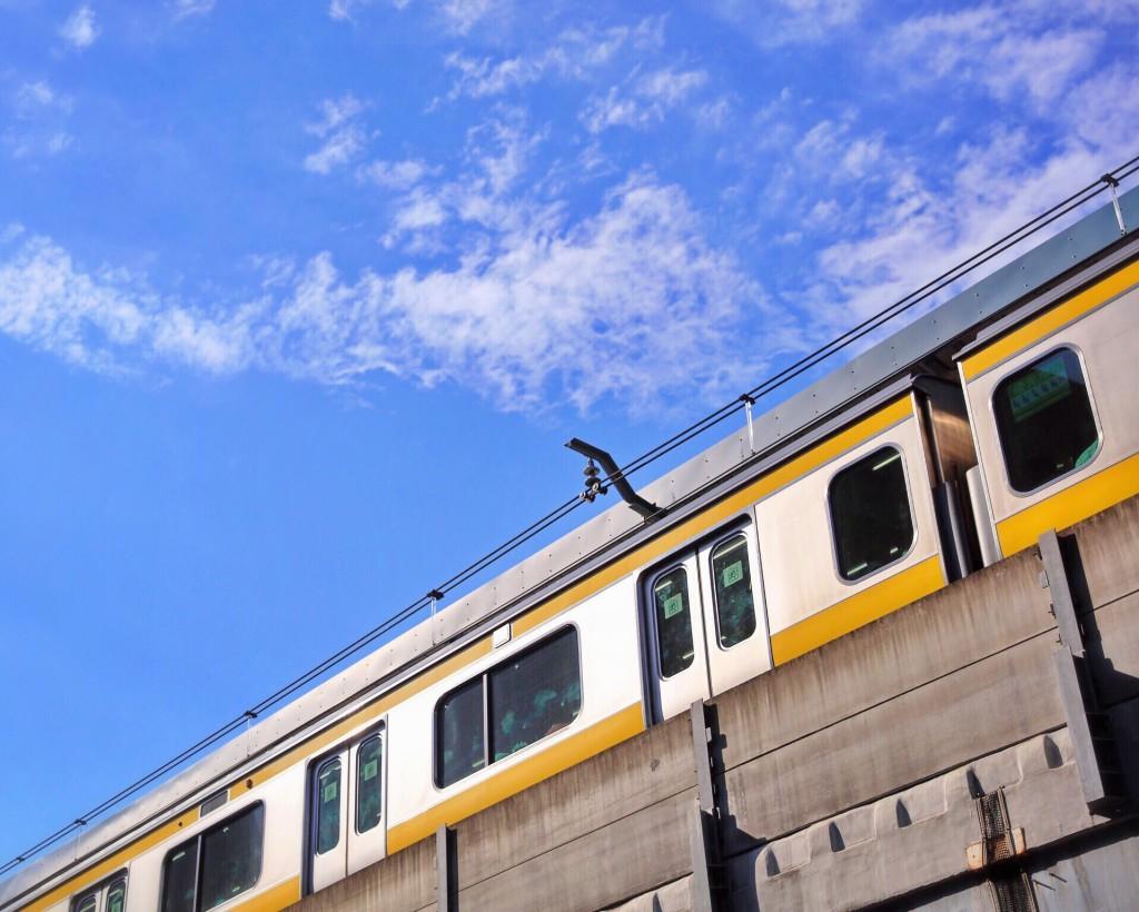 両国駅の電車