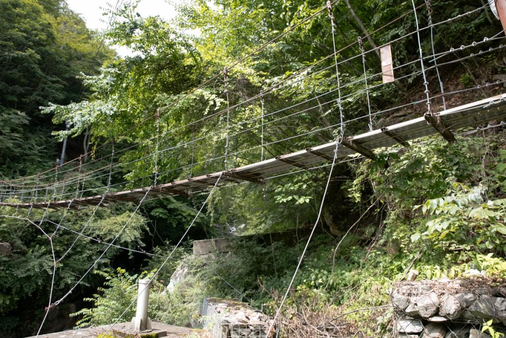 吊橋(森山橋)1