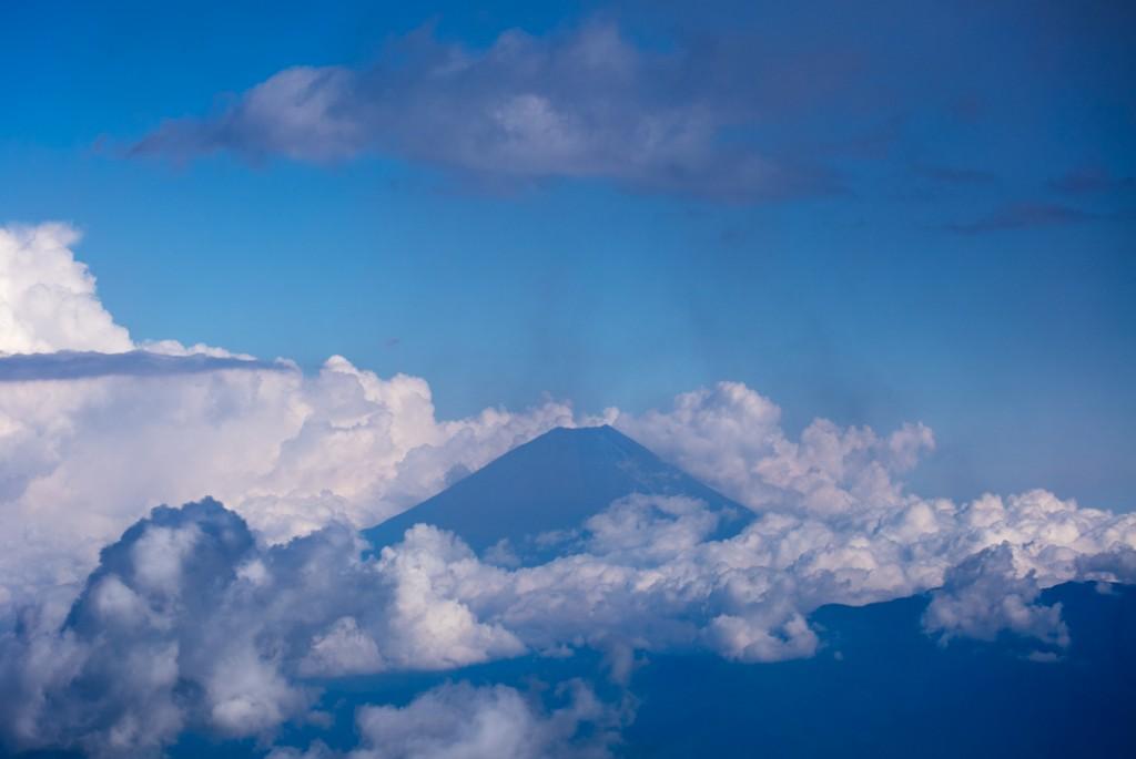 間ノ岳から見る富士1