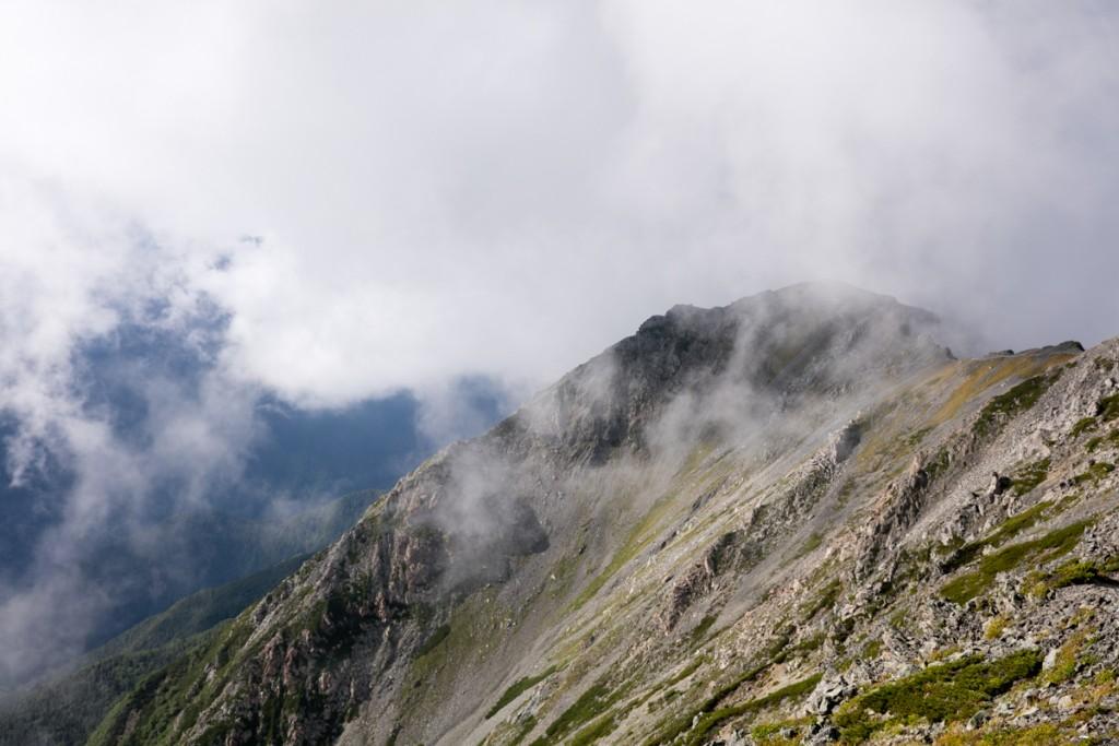 間ノ岳〜中白根山 稜線2