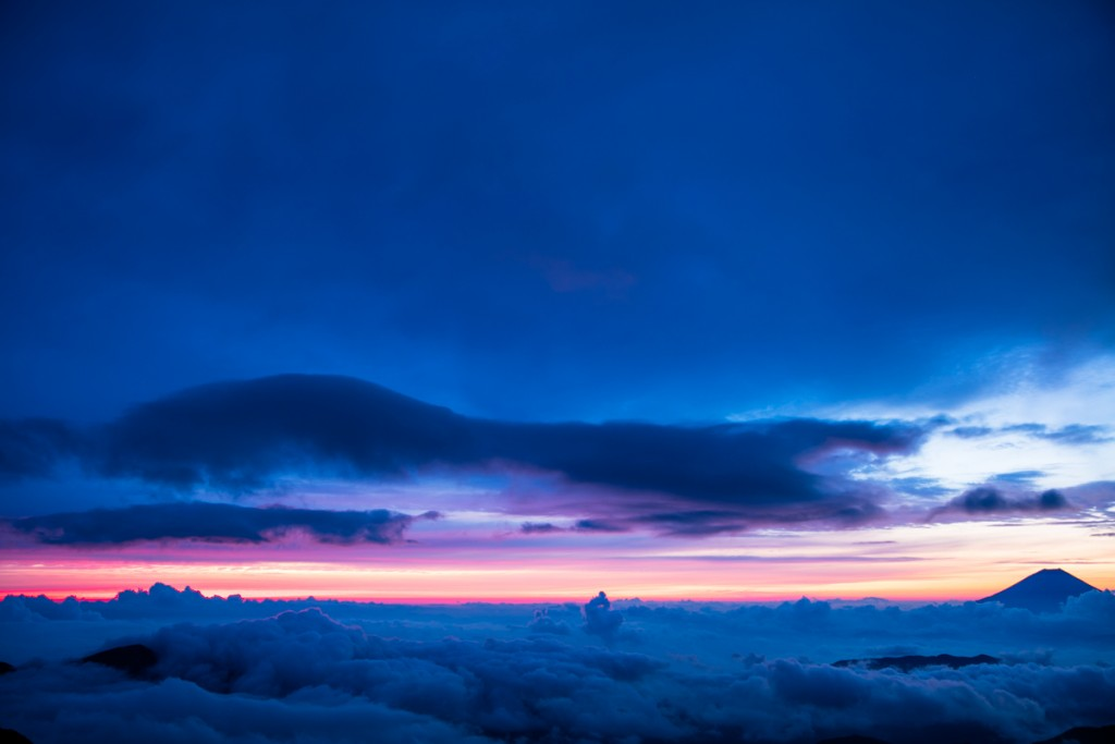 中白根山からの富士山1