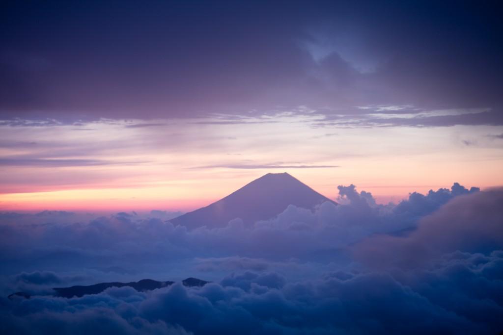 中白根山からの富士山2