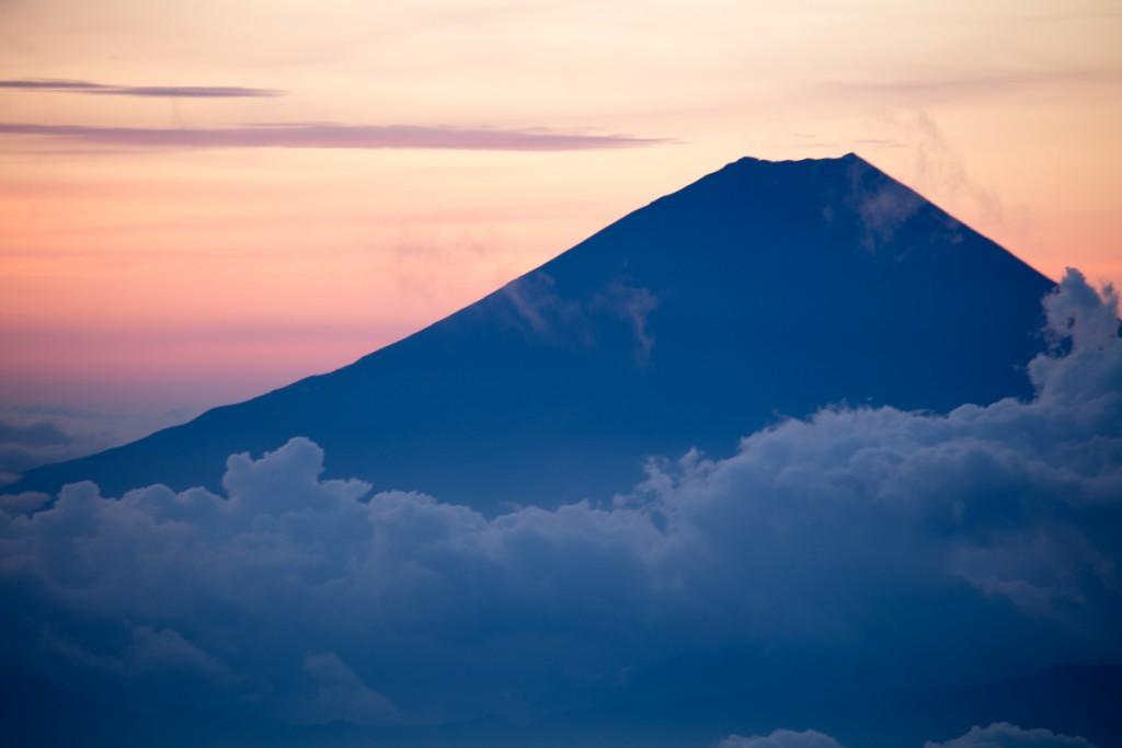 中白根山からの富士山4