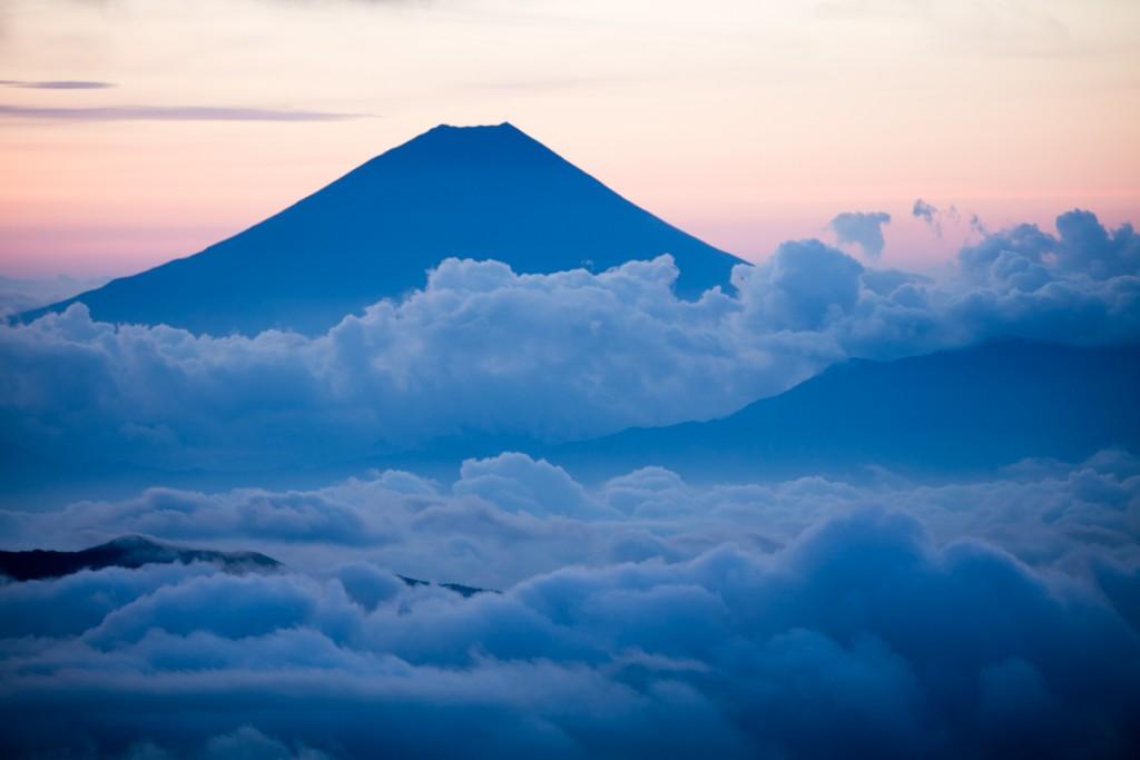 中白根山からの富士山3