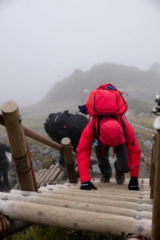 北岳山荘〜北岳1