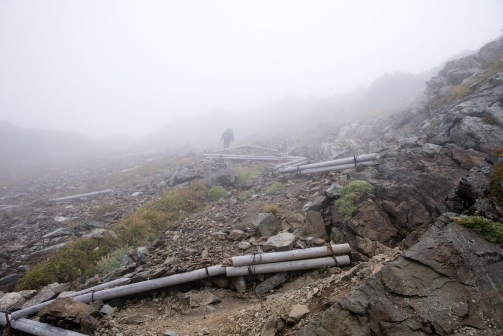 北岳山荘〜北岳2
