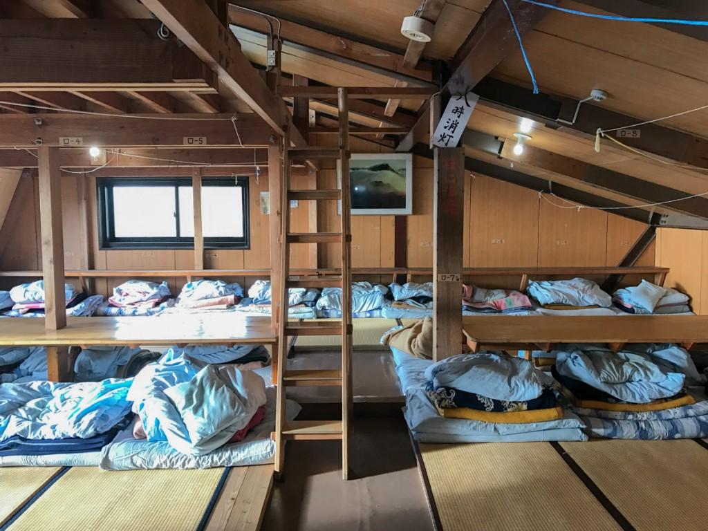 北岳山荘 部屋3