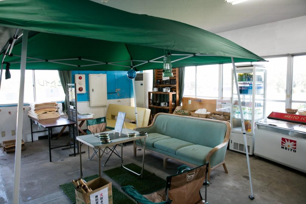 伊良湖キャンプ場 受付2