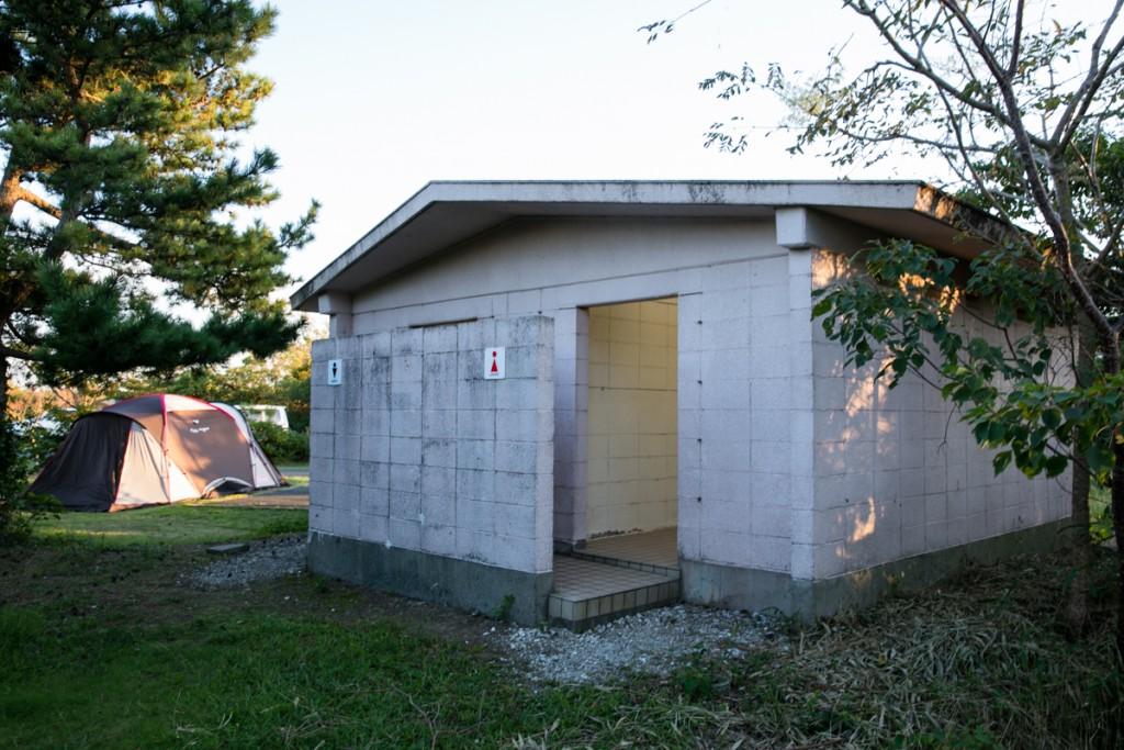 伊良湖キャンプ場 トイレ1