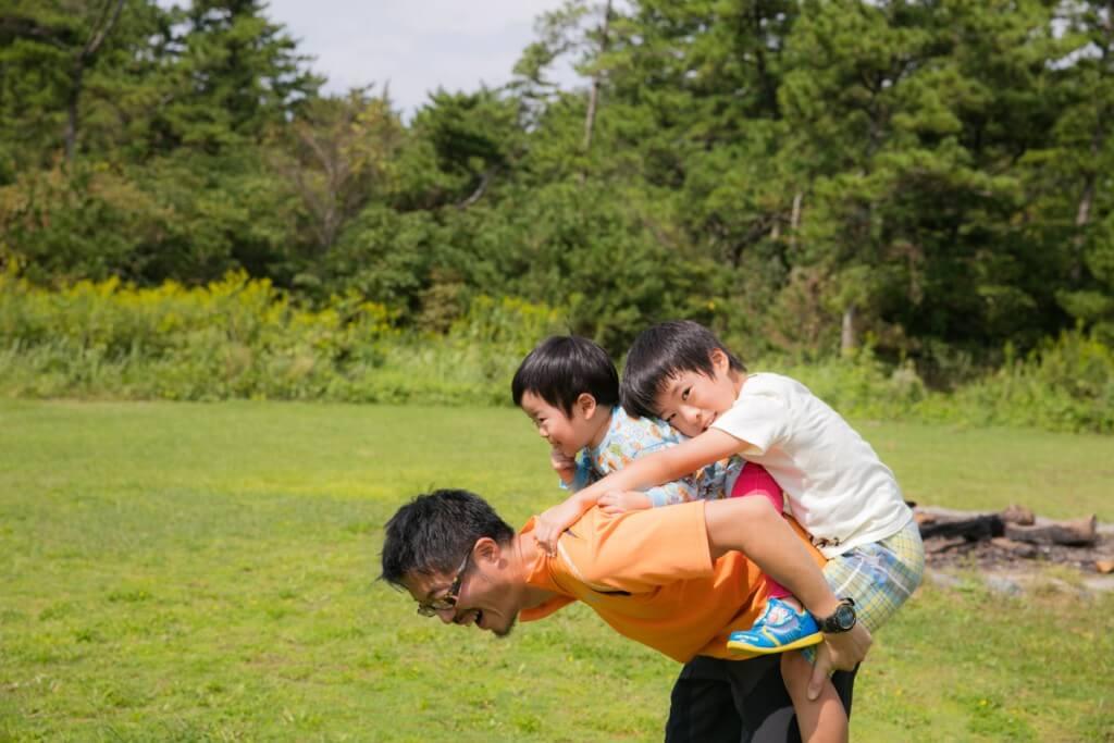 伊良湖キャンプ場 フリーサイトで遊ぶ2