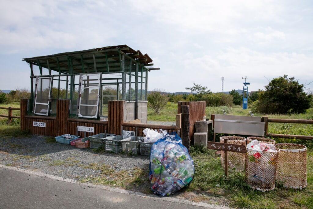 伊良湖キャンプ場 ゴミステーション