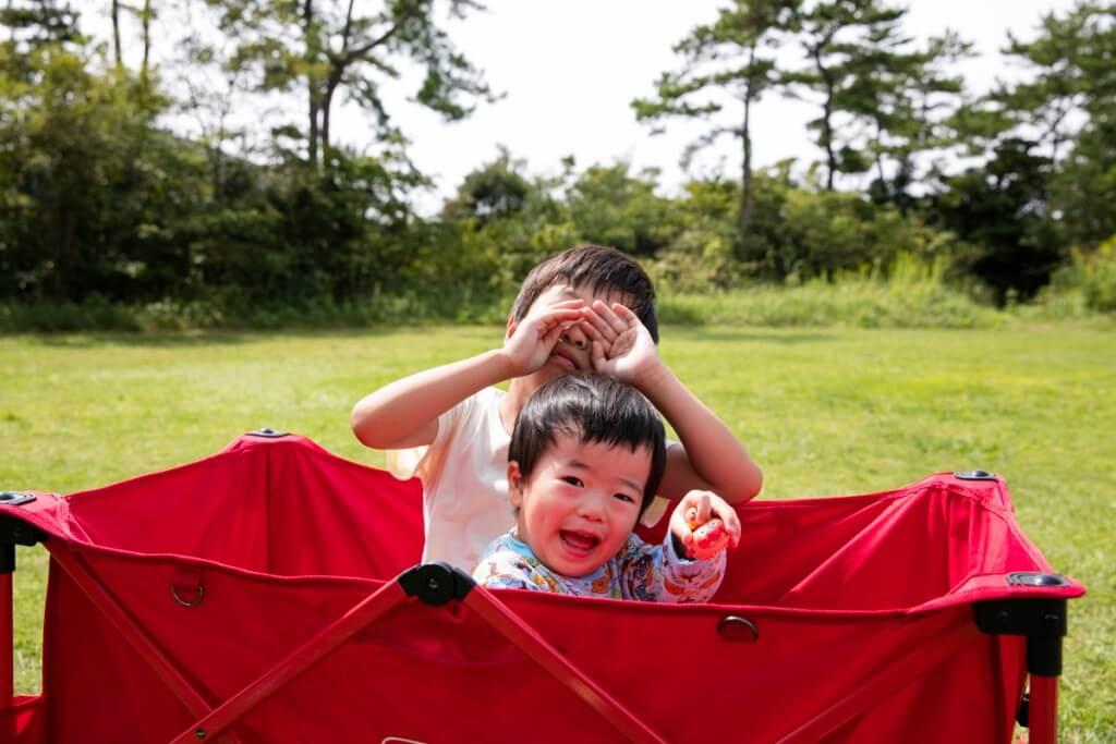 伊良湖キャンプ場 フリーサイトで遊ぶ3