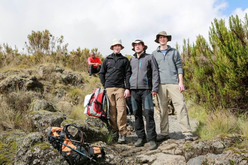 キリマンジャロ登山を一緒に登ったドイツ人
