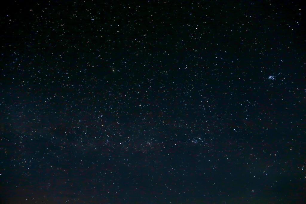 キリマンジャロ登山 ロンガイルート Third cave campからの星空