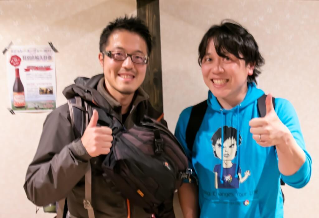 BMSオフ会 Junichiさんとy-hey