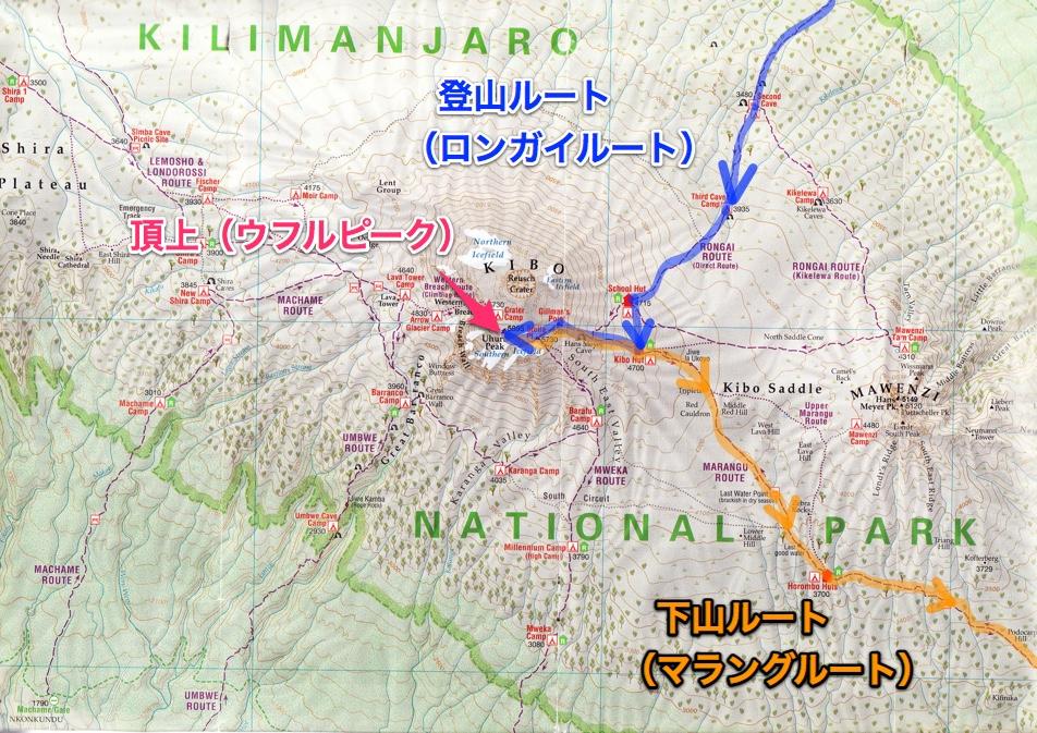 キリマンジャロ登山 ロンガイルート〜マラングルート
