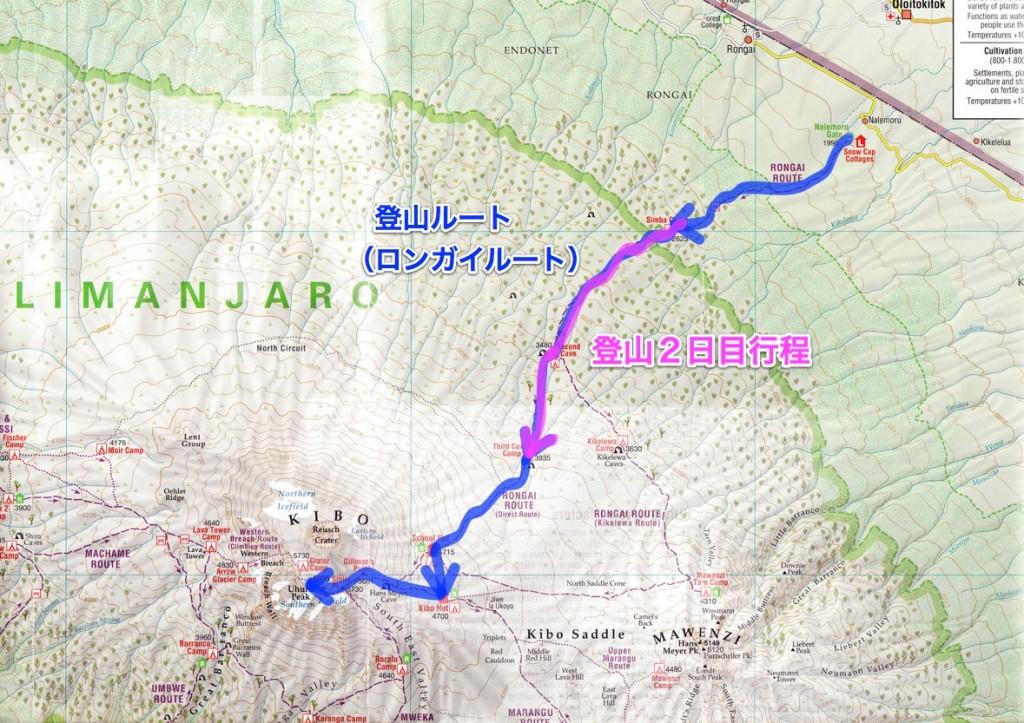 キリマンジャロ登山2日目