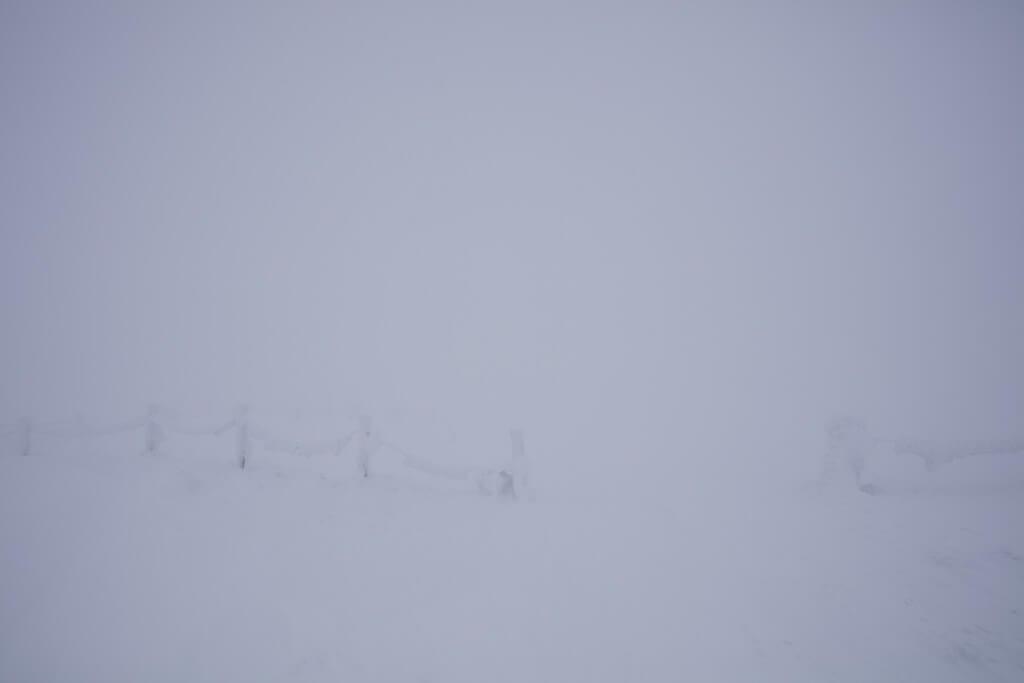 冬の伊吹山 パノラマビュー