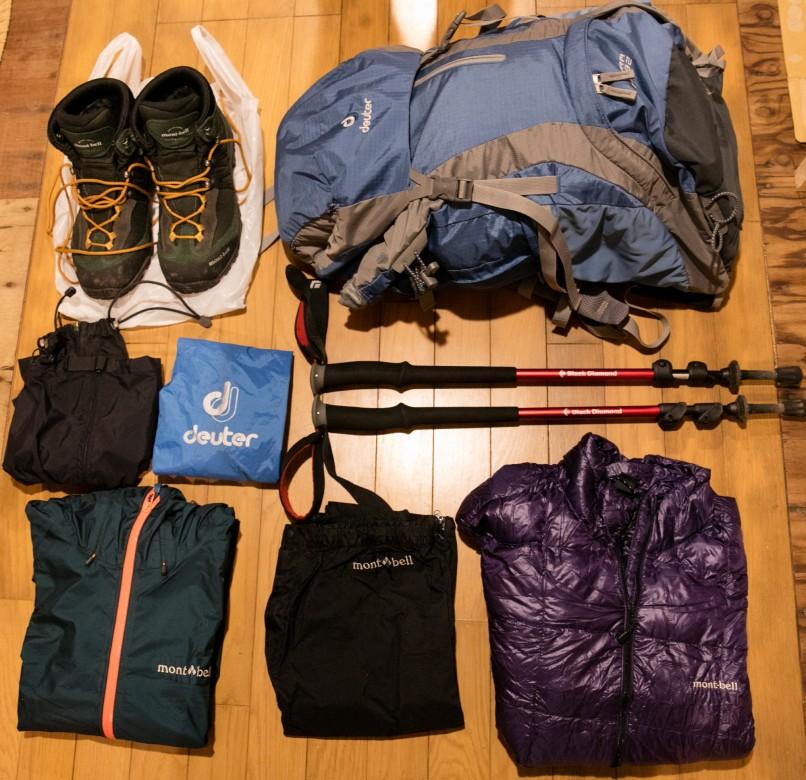 富士山登山の服装