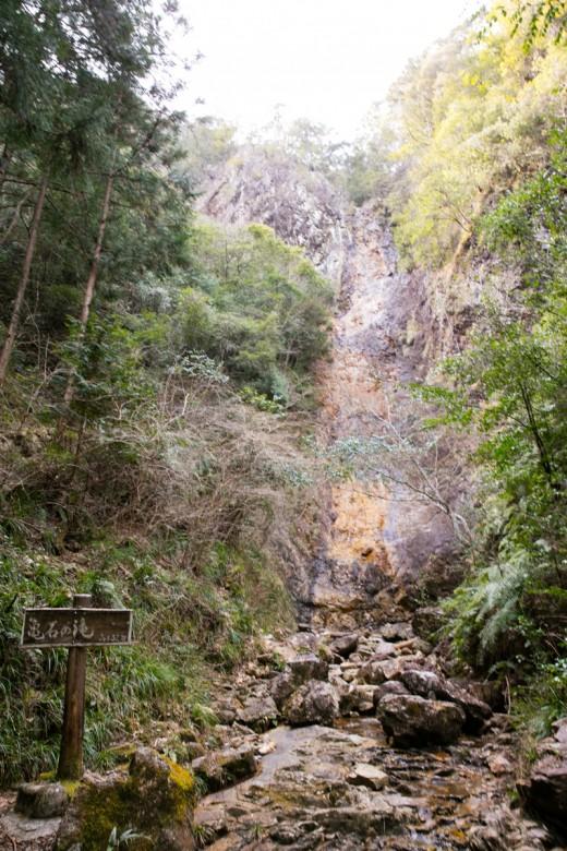 愛知県民の森 亀石の滝