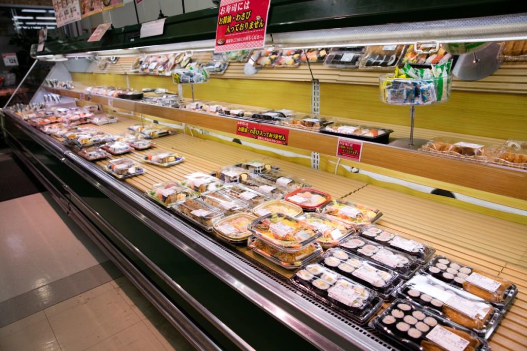 ぎゅーとらラブリー志摩店 惣菜コーナー1