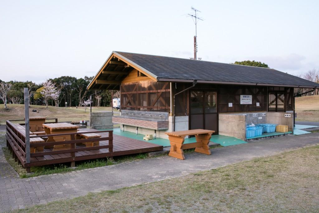 志摩オートキャンプ場 炊事棟1