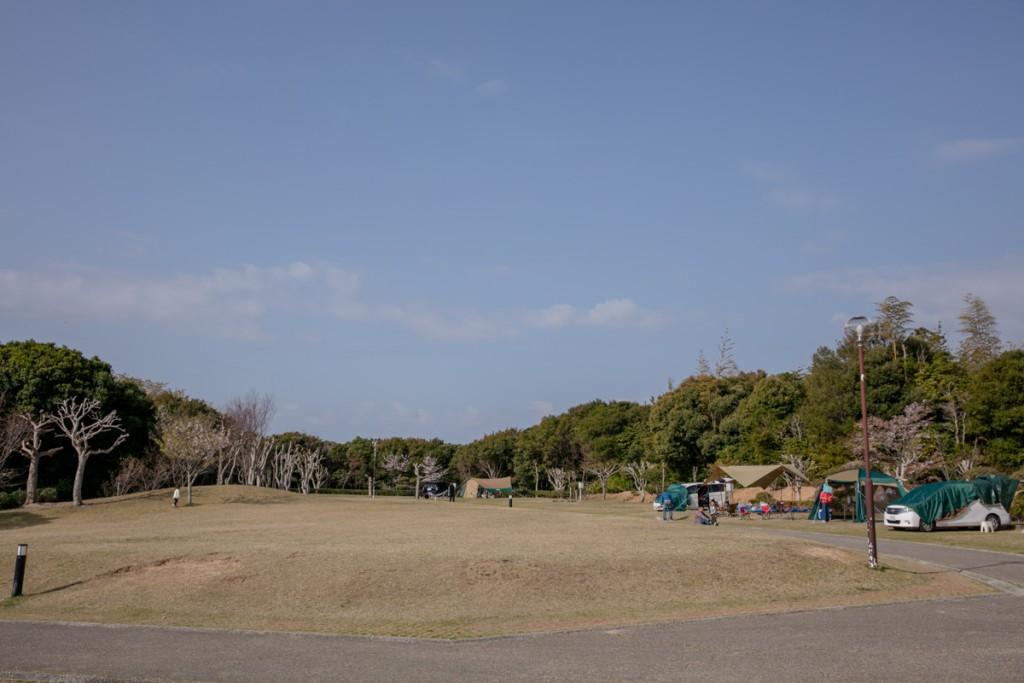 志摩オートキャンプ場 広場