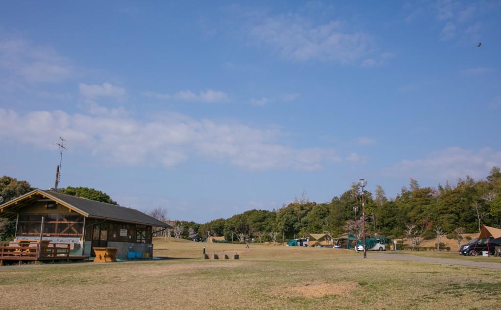 志摩オートキャンプ場 テントサイト