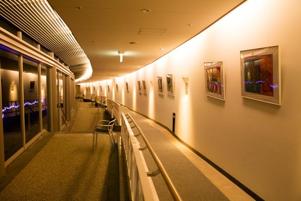 ホテル近鉄アクアヴィラ伊勢志摩 ともやまの湯 館内廊下2