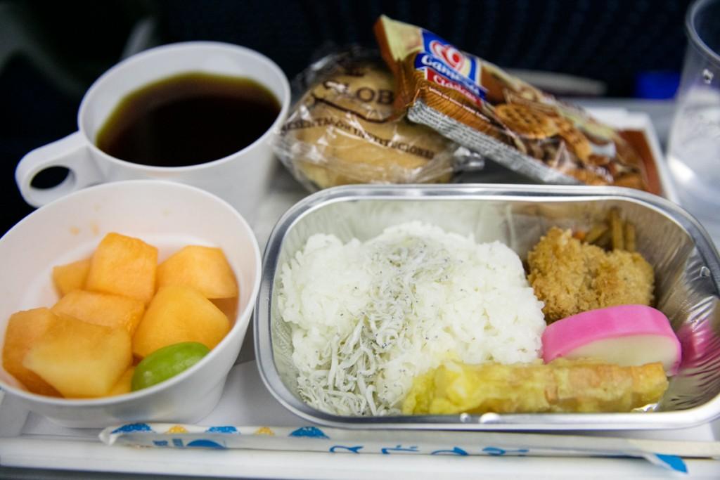 アエロメヒコ航空AM058便 朝食