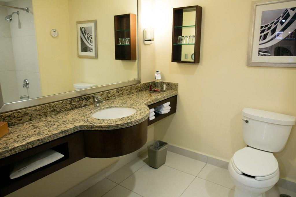 メキシコ アグアスカリエンテス マリオットホテル 洗面所