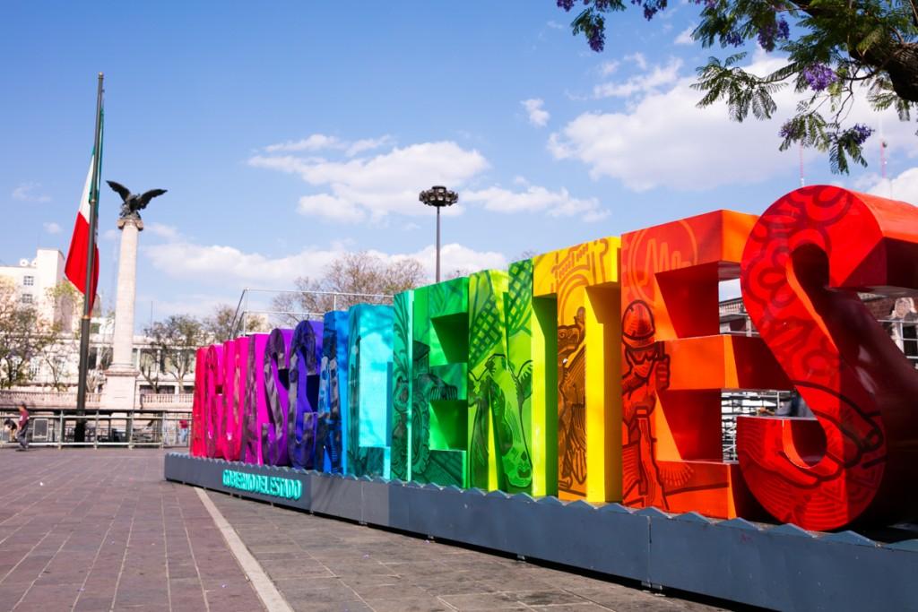 メキシコ アグアスカリエンテス パトリア広場3