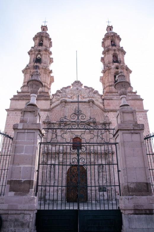 メキシコ アグアスカリエンテス 大聖堂 外観1