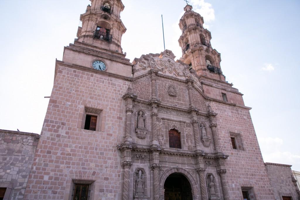 メキシコ アグアスカリエンテス 大聖堂 外観2