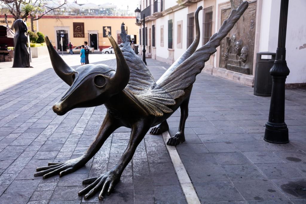 メキシコ アグアスカリエンテス 市街地の像1